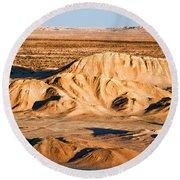 Anza Borrego Coachella Valley By Diana Sainz Round Beach Towel