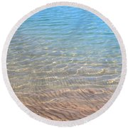 Aqua Art Round Beach Towel