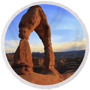 Arch 30 Round Beach Towel