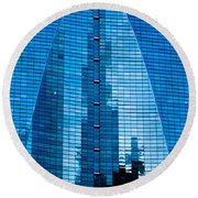 Arch In Glass Round Beach Towel