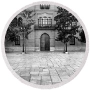 Archbishop's Palace Granada Round Beach Towel