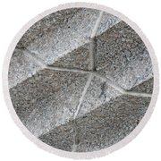 Architectural Detail 3 Round Beach Towel