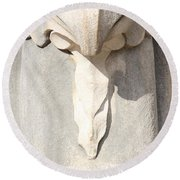 Architectural Detail Round Beach Towel