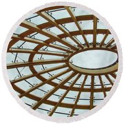 Architecture In Color Round Beach Towel