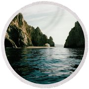 Archway At Cabo Round Beach Towel