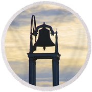 Ardara Church Bell Round Beach Towel