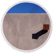 Arizona Stucco With Scupper Round Beach Towel