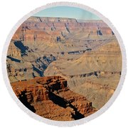 Arizona's Grand Canyon Round Beach Towel