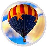 Arizonia Hot Air Balloon Special Round Beach Towel