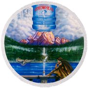 Arrowhead Round Beach Towel