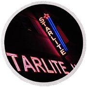 Starlite Hotel Art Deco District Miami 3 Round Beach Towel