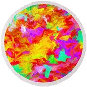 Art Series 01 Round Beach Towel