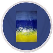 Art Therapy 174 Round Beach Towel