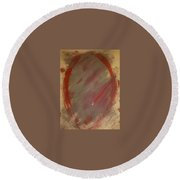 Art Therapy 22 Round Beach Towel