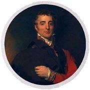 Arthur Wellesley, Duke Of Wellington Round Beach Towel