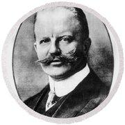 Arthur Zimmermann (1864-1940) Round Beach Towel