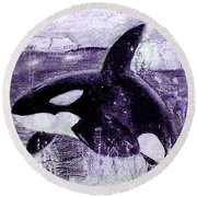 Artic Round Beach Towel