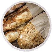 Artisan Bread Round Beach Towel