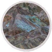 Artists Pallet Death Valley Ca Img 0448 Round Beach Towel