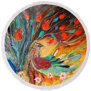 Artwork Fragment 05 Round Beach Towel