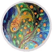 Artwork Fragment 38 Round Beach Towel