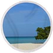 Aruba Divi Tree Round Beach Towel