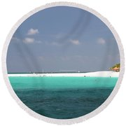 Aruba Round Beach Towel
