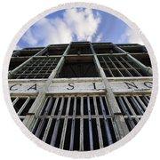 Asbury Park Nj Casino Color Round Beach Towel