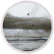Ascension II Round Beach Towel