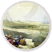 Askelon Round Beach Towel