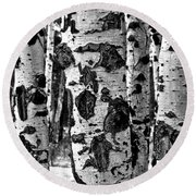 Aspen Art Round Beach Towel