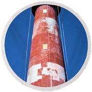 Assateague Lighthouse 2 Round Beach Towel