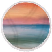 Astound Round Beach Towel
