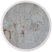 Astract Concrete 1 Round Beach Towel