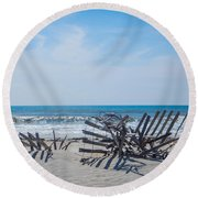At Odds Round Beach Towel