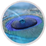 At Peace Round Beach Towel