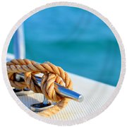 At Sea Round Beach Towel