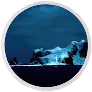 Atlantic After Dark Round Beach Towel