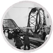 Atlantic City, C1902 Round Beach Towel