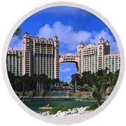 Atlantis Round Beach Towel