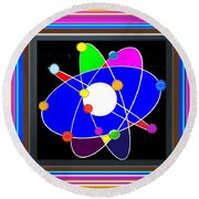 Atom Science Progress Buy Faa Print Products Or Down Load For Self Printing Navin Joshi Rights Manag Round Beach Towel