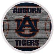 Auburn Tigers Round Beach Towel