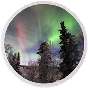 Aurora 2015 Round Beach Towel