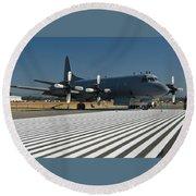 Lockheed Cp-140 Aurora Round Beach Towel