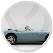 Austin Healey 3000 Mkiii Round Beach Towel