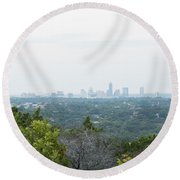 Austin Horizon Round Beach Towel