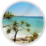 Australian Beach Round Beach Towel