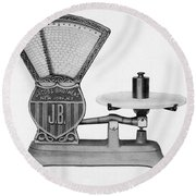 Automatic Computing Scale Round Beach Towel
