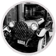 Automobile, 1916 Round Beach Towel