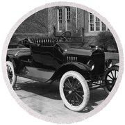 Automobile, 1921 Round Beach Towel